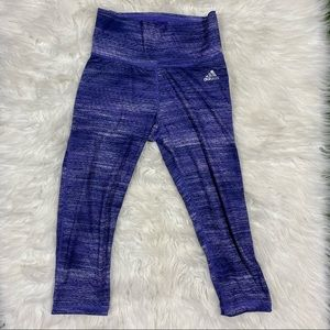 Adidas High Rise Capri Leggings